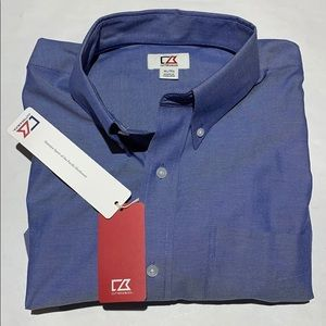 Cutter & Buck Epic Easy Care Royal Oxford Shirt